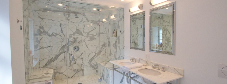 Boston Custom Marble Bathroom