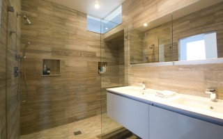 Custom Stone Shower Boston