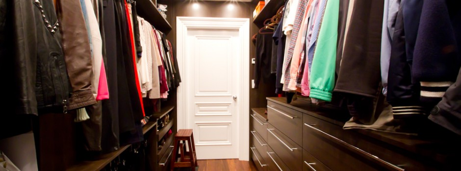 Boston custom wood closet